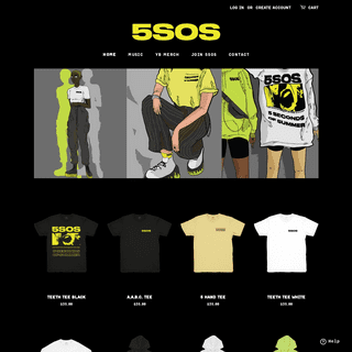 Official 5SOS Merchandise – Official 5SOS Store - US