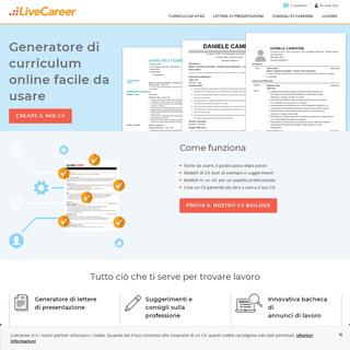 ArchiveBay.com - livecareer.it - Creare Curriculum - Come scrivere un curriculum - LiveCareer
