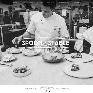 Spoon and Stable - Minneapolis, MN
