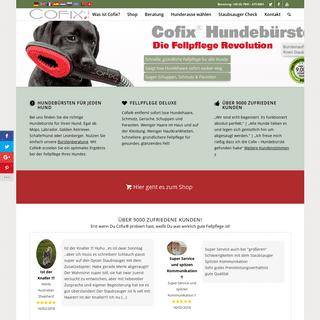 Hundebürste Cofix - Top Fellpflege für alle Hunderassen
