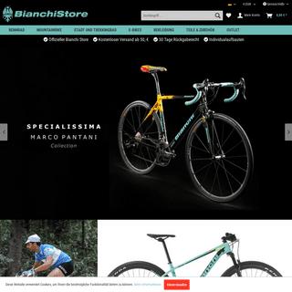 BianchiStore- Rennräder, Mountainbikes, Bekleidung, Zubehör & Ersatzteile von Bianchi