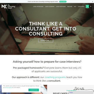 MyConsultingCoach - Case Interview Preparation and McKinsey PST