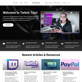 Twitch Tips - Powered by actual streamers