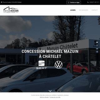 Concession automobile Volkswagen, VW Utilitaires, Seat à Châtelet
