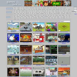 GamesBox.com FLASH - Play Free Flash Games Online at GamesBox.com GamesBox.com - Free Flash Games - Play Your Favorite Game Onli