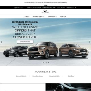 INFINITI Abu Dhabi - Luxury Sedans, Hybrids, SUVs and Crossovers