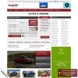 Auto à vendre - Auto Usagées - 35,000 autos usagées à vendre sur Autoaubaine.com