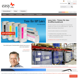 ArchiveBay.com - easy-inks.de - easy inks - Tinten Made in Germany