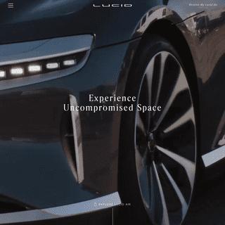 Lucid Air - Luxury EV - Electric Sedan