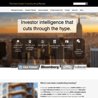 The Real Estate Crowdfunding Review