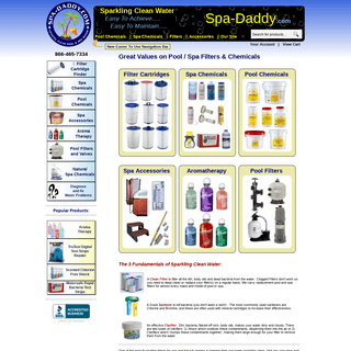 ArchiveBay.com - spa-daddy.com - Spa Filters - Spa Chemicals - Hot Tub Filters - Replacement Spa Filter
