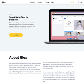 Itlex - Smart SMM Tools For Business