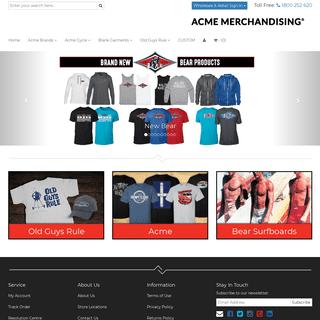 Acme Merchandising - branded and custom merchandise solutions