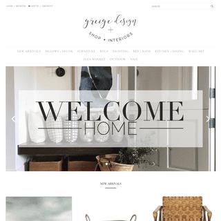 greige design shop + interiors
