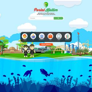 Website Portal Pemerintah Provinsi Kalimantan Timur