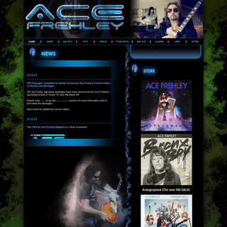 ArchiveBay.com - acefrehley.com - Ace Frehley