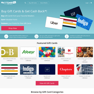 ArchiveBay.com - mygiftcardsplus.ca - MyGiftCardsPlus- Get cash back on gift cards purchases. Top-rated by customers