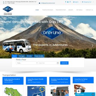 ArchiveBay.com - graylinecostarica.com - Costa Rica Travel Agency & Tour Operator - Gray Line Costa Rica