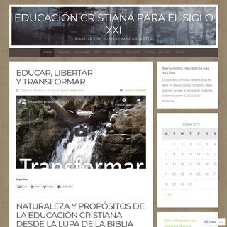 Educación Cristiana para el Siglo XXI – Pastor Dr. Juan R. Mejías Ortiz