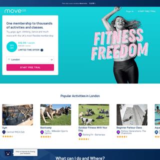 MoveGB - The UK's Most Flexible Fitness Membership