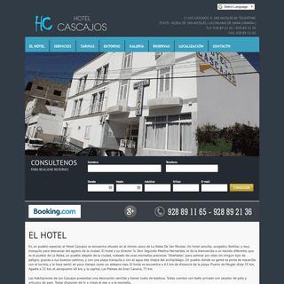 Hotel Cascajos. Aldea de San Nicolás. Las Palmas de Gran Canaria