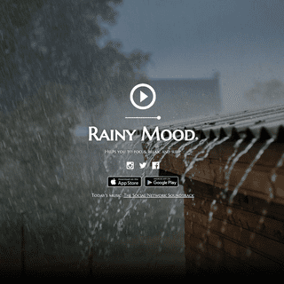 ArchiveBay.com - rainymood.com - Rainy Mood - Helps you to focus, relax, and sleep. Now available for iOS and Android