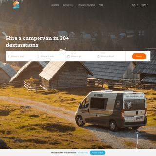 Campervan Hire in Europe- 30+ locations - Indie Campers