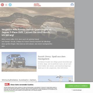 ᐅ Autorevue - das Magazin für Fahrfreude