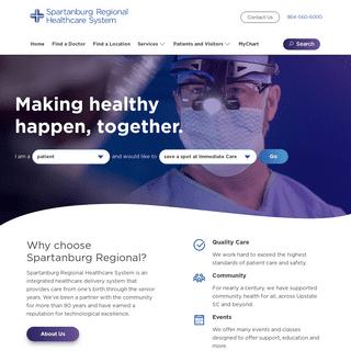 Spartanburg Regional Healthcare System - Spartanburg Regional