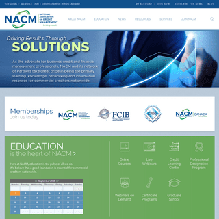 NACM - National Association of Credit Management