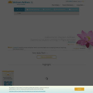 Vietnam Airlines - Reach Further - Official website