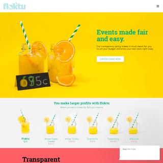 Floktu – Free Online Registration - Ticketing