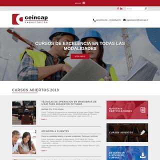 CEINCAP - Capacitación