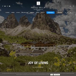 Hotel Passo Sella Resort - Hotel Alto Adige Passo Sella Mountain Resort