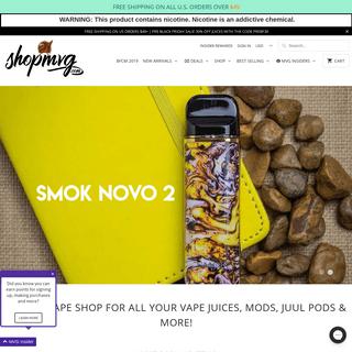 ShopMVG.com - Online Vape Shop Deals - Free Shipping