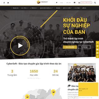 ArchiveBay.com - cybersoft.edu.vn - Trang chủ - CyberSoft Academy -Đào tạo Chuyên Gia Lập Trình