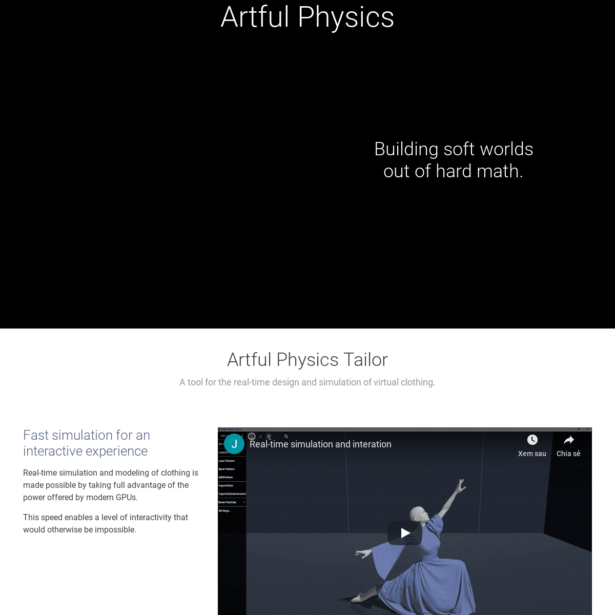 Artful Physics