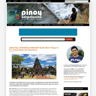 Updated Budget Travel Guide Blogs, DIY Itinerary, Hotel Reviews - Pinoy Adventurista Philippines