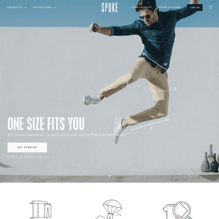 ArchiveBay.com - spoke-london.com - SPOKE Men's Trousers - A flawless fit, delivered