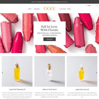 Ogee Organic Skincare - Luxury Organic Skin Care