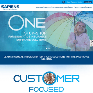 Insurance Software Solutions - Sapiens