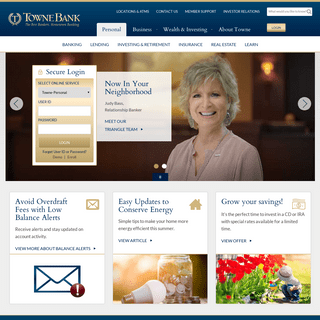 ArchiveBay.com - paragonbank.com - TowneBank - Personal and Business Banking, Investments, Mortgages