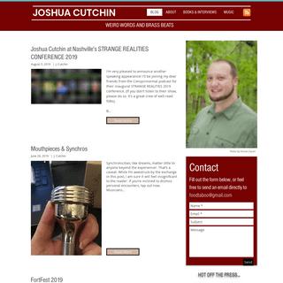 ArchiveBay.com - joshuacutchin.com - Joshua Cutchin- Weird Words & Brass Beats