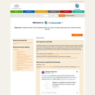 ArchiveBay.com - akademiai.com - Akadémiai Kiadó