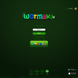 Wormax.io - Free-to-play multiplayer game