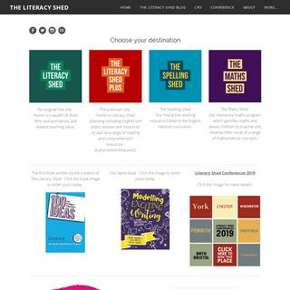 ArchiveBay.com - literacyshed.com - THE LITERACY SHED - Splash