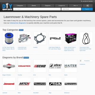 Buy Spare Machinery Parts Online - DIY Spare Parts