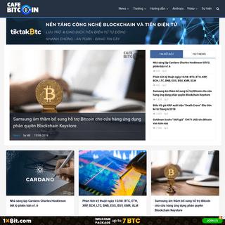 Cafebitcoin - Trang tin tức về công nghệ Blockchain và Tiền điện tử