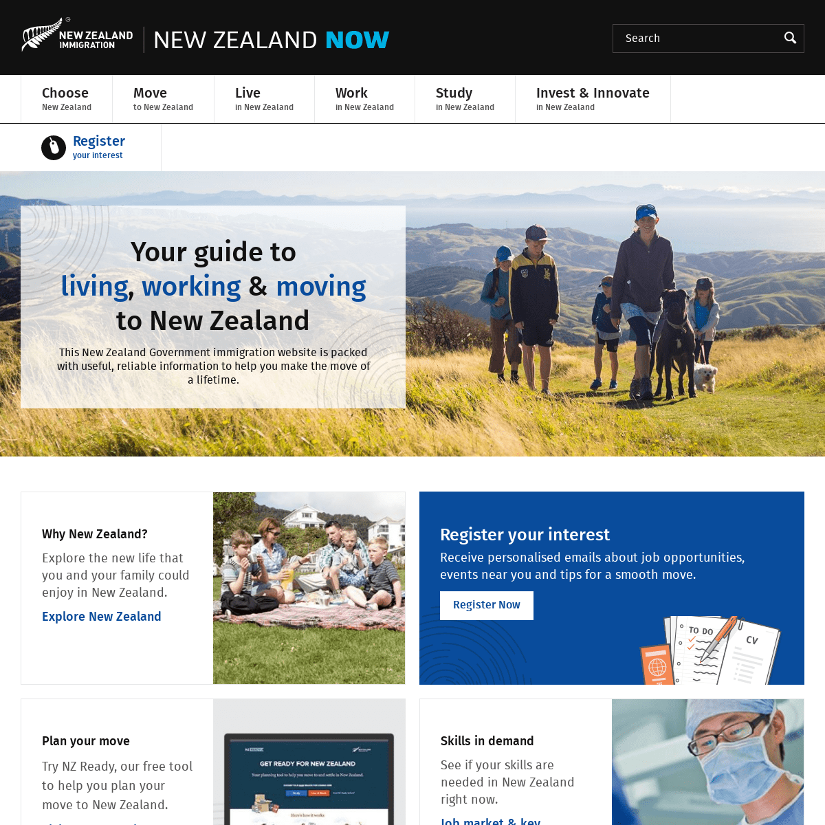 ArchiveBay.com - newzealandnow.govt.nz - Working & Living in New Zealand - New Zealand Now