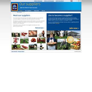 ArchiveBay.com - aldisuppliers.co.uk - Aldi – Suppliers – Share in our Success